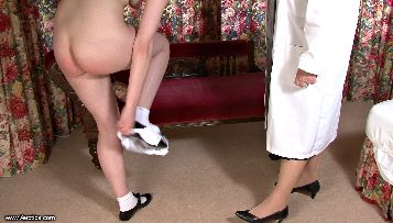 bare bottom Spanking & Caning video download